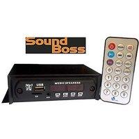 Sound Boss SB-108 Mini Car Media Player(Single Din)