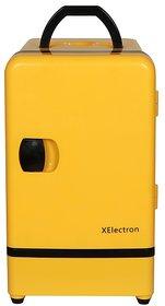 XElectron 7.5 Litre Mini Fridge Car Cooler Warmer - Yellow