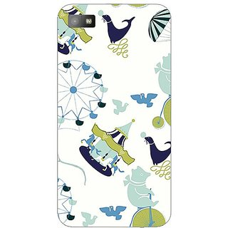 Garmor Designer Plastic Back Cover For Blackberry Z10