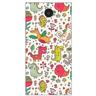 Garmor Designer Plastic Back Cover For Gionee Elife E7