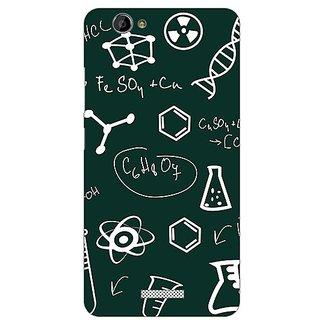 Garmor Designer Plastic Back Cover For Gionee M2
