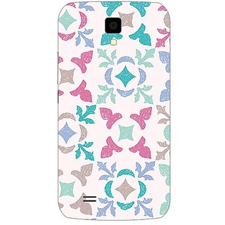 Garmor Designer Plastic Back Cover For Gionee P2S