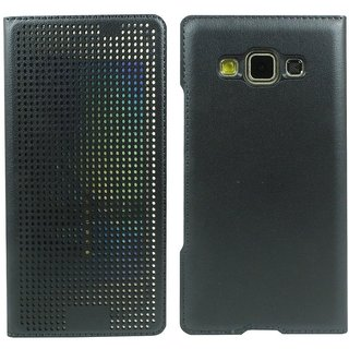 Buy Heartly Dot View Touch Sensative Flip Thin Hard Shell Premium Bumper Back Case Cover For Samsung Galaxy A3 SM-A300F - Re Online - Get 68% Off