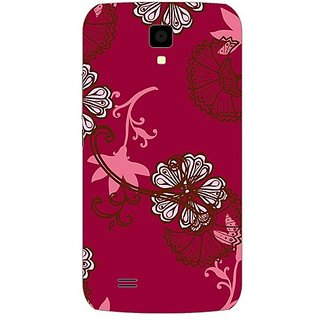 Garmor Designer Plastic Back Cover For Gionee P2S