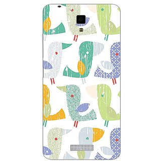Garmor Designer Plastic Back Cover For Gionee Pioneer P4