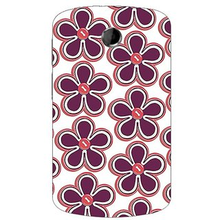 Garmor Designer Plastic Back Cover For Htc A310