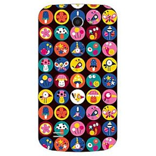 Garmor Designer Plastic Back Cover For Gionee Pioneer P3