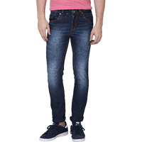 Super-X Blue Skinny Fit Jeans For Men
