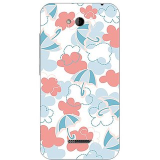 Garmor Designer Plastic Back Cover For Htc Desire 616