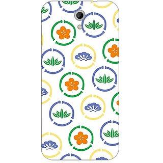 Garmor Designer Plastic Back Cover For Htc Desire 620