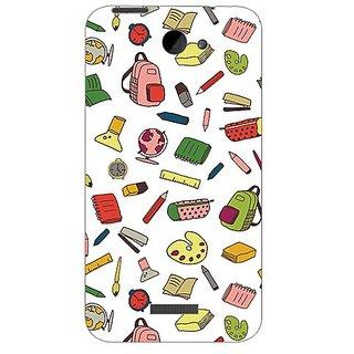 Garmor Designer Plastic Back Cover For Htc One X