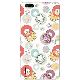 Garmor Designer Plastic Back Cover For Huawei Honor 6 Plus