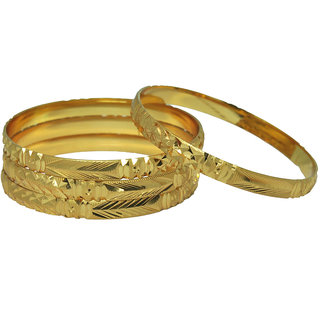 Czar Fashionable  Gorgeous Bangle Set -BANGLE3556.2.6