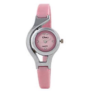 woman pink glory watch