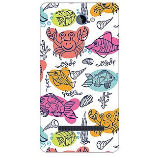 Garmor Designer Plastic Back Cover For Htc Windows Phone 8S