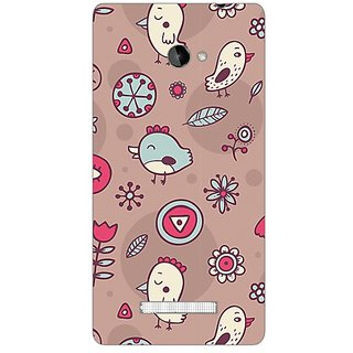 Garmor Designer Plastic Back Cover For Htc Windows Phone 8X