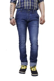 3Concept Blue Skinny Fit Jeans For Men-abc243c