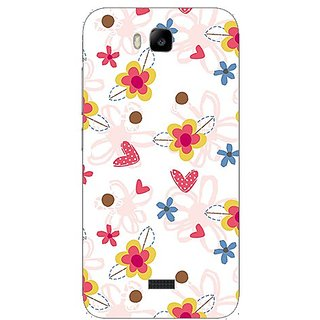 Garmor Designer Plastic Back Cover For Huawei Honor Bee