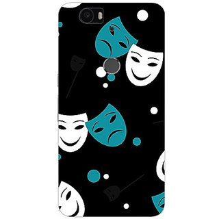 Garmor Designer Plastic Back Cover For Huawei Nexus 6P