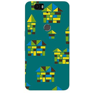 Garmor Designer Plastic Back Cover For Huawei Nexus 6P