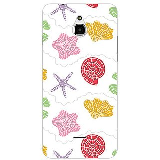 Garmor Designer Plastic Back Cover For Infocus M2