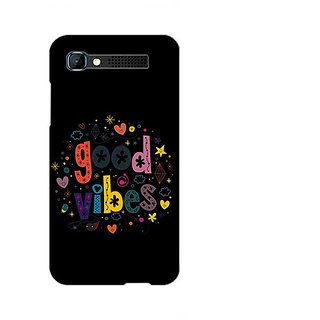 Garmor Designer Plastic Back Cover For Intex Aqua Y2 Pro