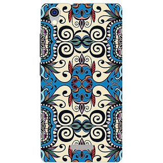 Garmor Designer Plastic Back Cover For Lava Iris X9