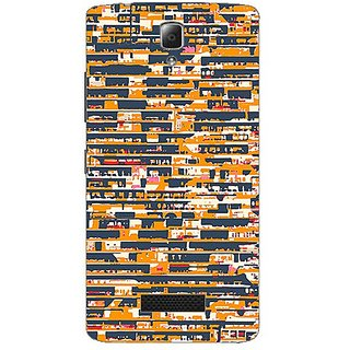 Garmor Designer Plastic Back Cover For Lenovo A2010