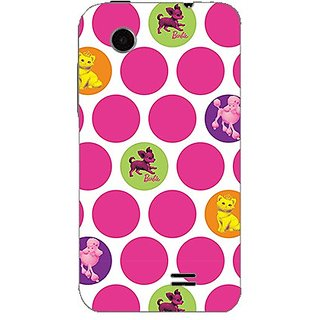 Garmor Designer Plastic Back Cover For Lenovo A369I