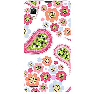 Garmor Designer Plastic Back Cover For Lenovo P780