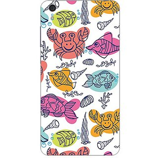 Garmor Designer Plastic Back Cover For Lenovo S850
