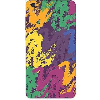 Garmor Designer Plastic Back Cover For Lenovo S850