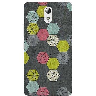 Garmor Designer Plastic Back Cover For Lenovo Vibe P1M