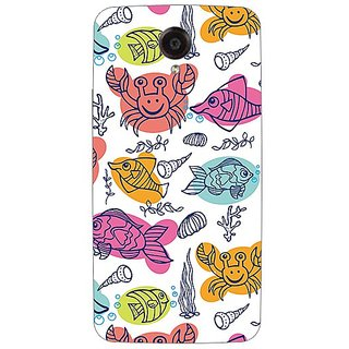 Garmor Designer Plastic Back Cover For Lenovo S820