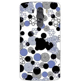 Garmor Designer Plastic Back Cover For Lg G3