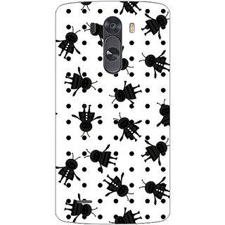 Garmor Designer Plastic Back Cover For Lg G3