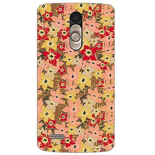 Garmor Designer Plastic Back Cover For Lg L Bello D335