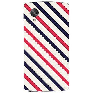 Garmor Designer Plastic Back Cover For Lg Google Nexus 5