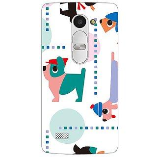 Garmor Designer Plastic Back Cover For Lg Leon H340N