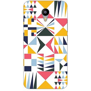 Garmor Designer Plastic Back Cover For Meizu M2