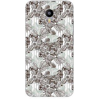 Garmor Designer Plastic Back Cover For Meizu M2