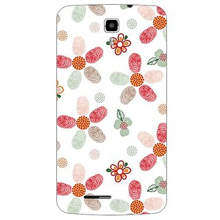 Garmor Designer Plastic Back Cover For Micromax Canvas Juice A177