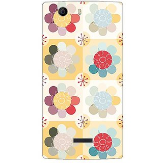 Garmor Designer Plastic Back Cover For Micromax Canvas Nitro 2 E311