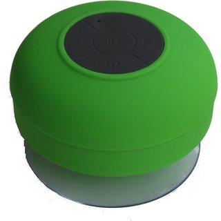 Quace Shower Bluetooth Wireless Mobile/tablet Speaker  green, Single Unit Channel