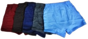 Alfa Boys Shorty Brief - Pack of 5 (Assorted Color)
