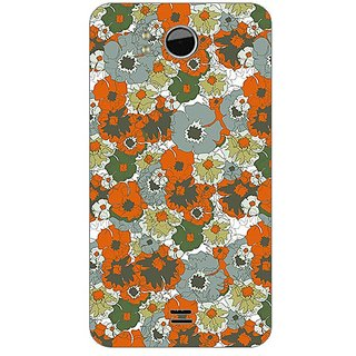 Garmor Designer Plastic Back Cover For Micromax A111 Canvas Doodle