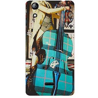 Garmor Designer Plastic Back Cover For Micromax Canvas Selfie 2 Q340