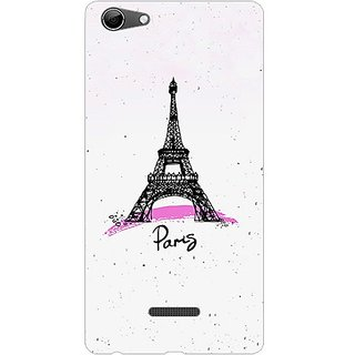 Garmor Designer Plastic Back Cover For Micromax Canvas Selfie 3 Q348