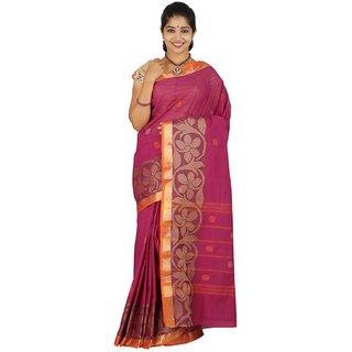 AvisHelio Fashion Pure Cotton Saree-KUMKI
