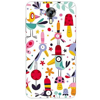 Garmor Designer Plastic Back Cover For Micromax Canvas Xpress 2 E313